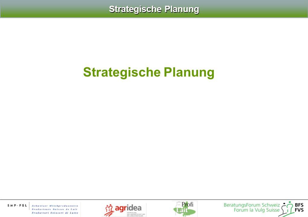 Strategische Planung Strategische Planung