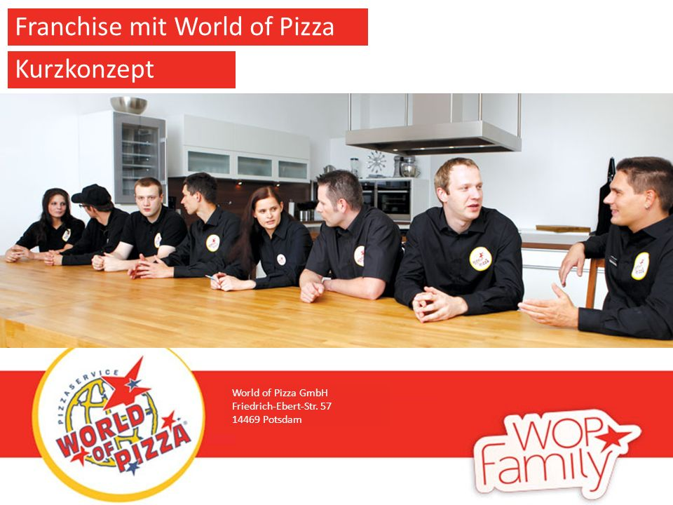 World of Pizza GmbH Friedrich-Ebert-Str Potsdam