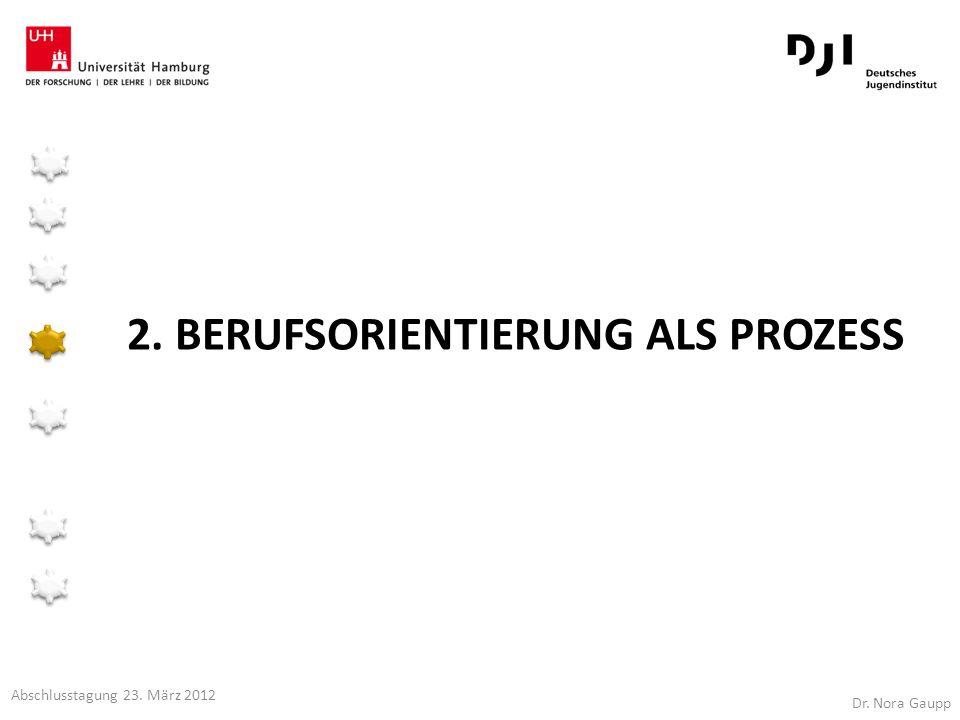 2. Berufsorientierung als Prozess