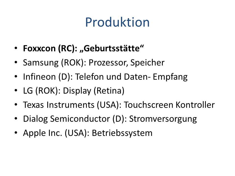 """Produktion Foxxcon (RC): """"Geburtsstätte"""