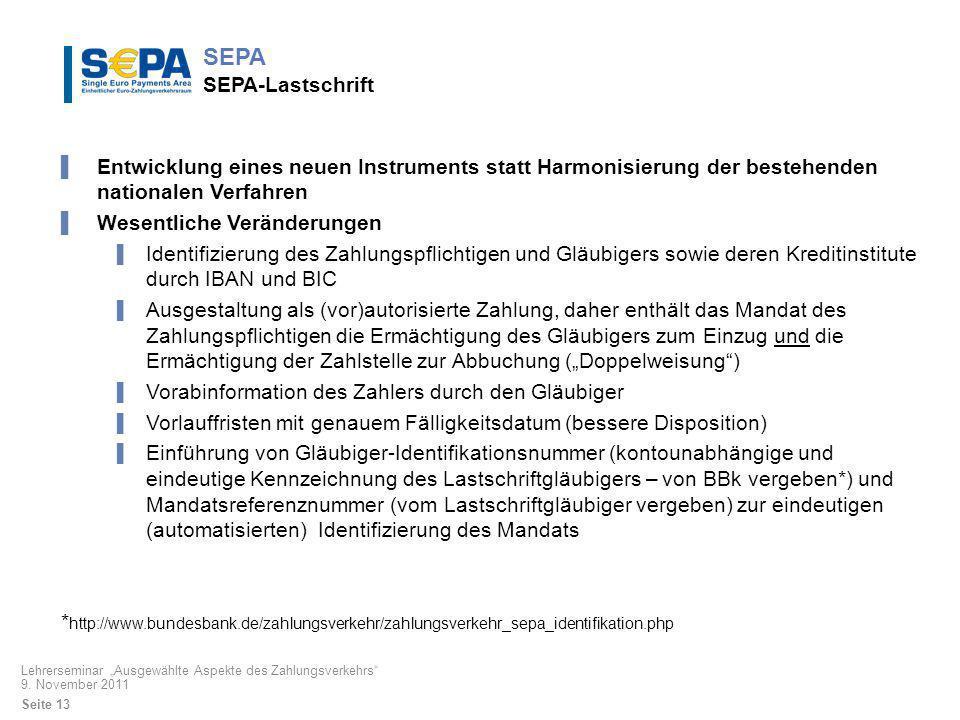 SEPA SEPA-Lastschrift