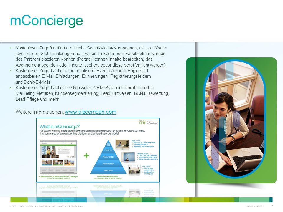 mConcierge Weitere Informationen: www.ciscomcon.com