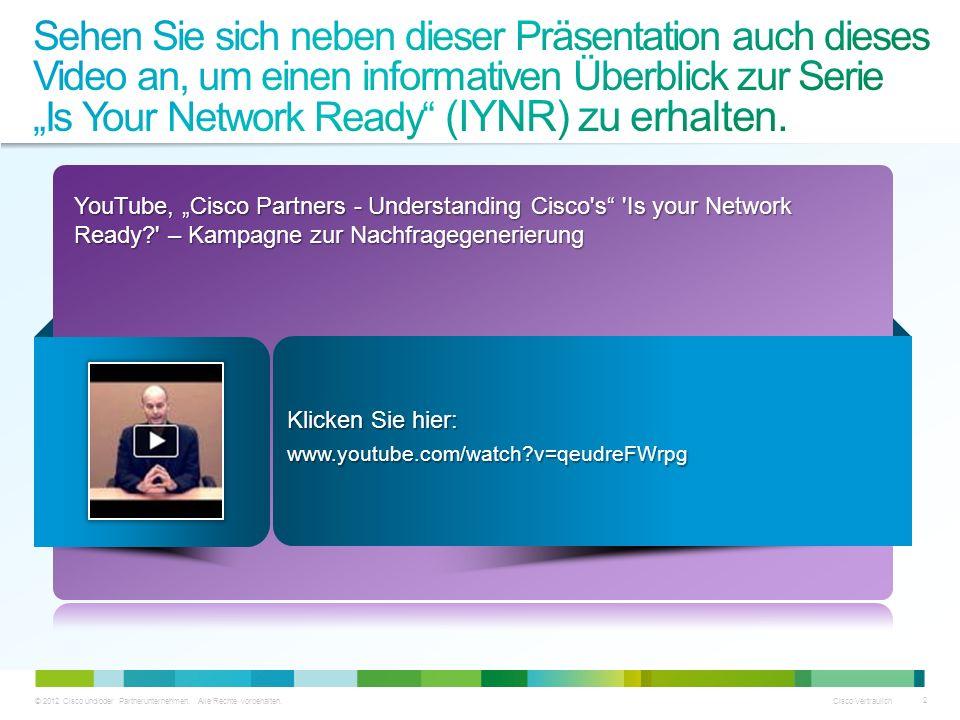 """Sehen Sie sich neben dieser Präsentation auch dieses Video an, um einen informativen Überblick zur Serie """"Is Your Network Ready (IYNR) zu erhalten."""