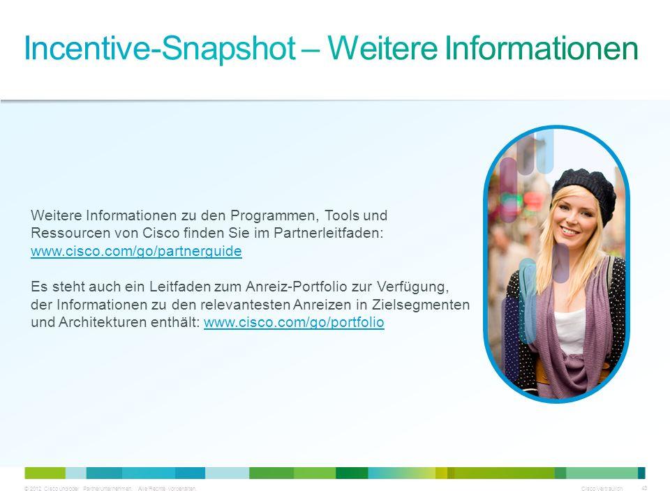 Incentive-Snapshot – Weitere Informationen