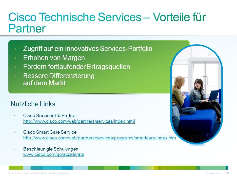 Cisco Technische Services – Vorteile für Partner