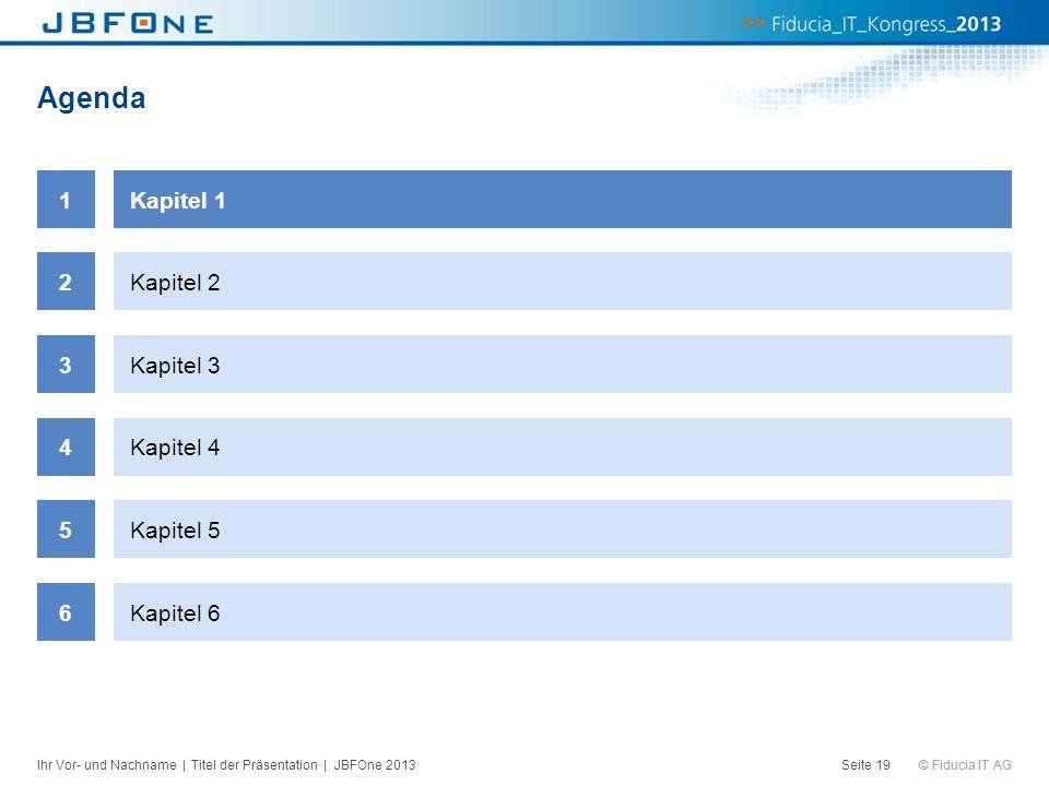 Agenda 1 Kapitel 1 2 Kapitel 2 3 Kapitel 3 4 Kapitel 4 5 Kapitel 5 6