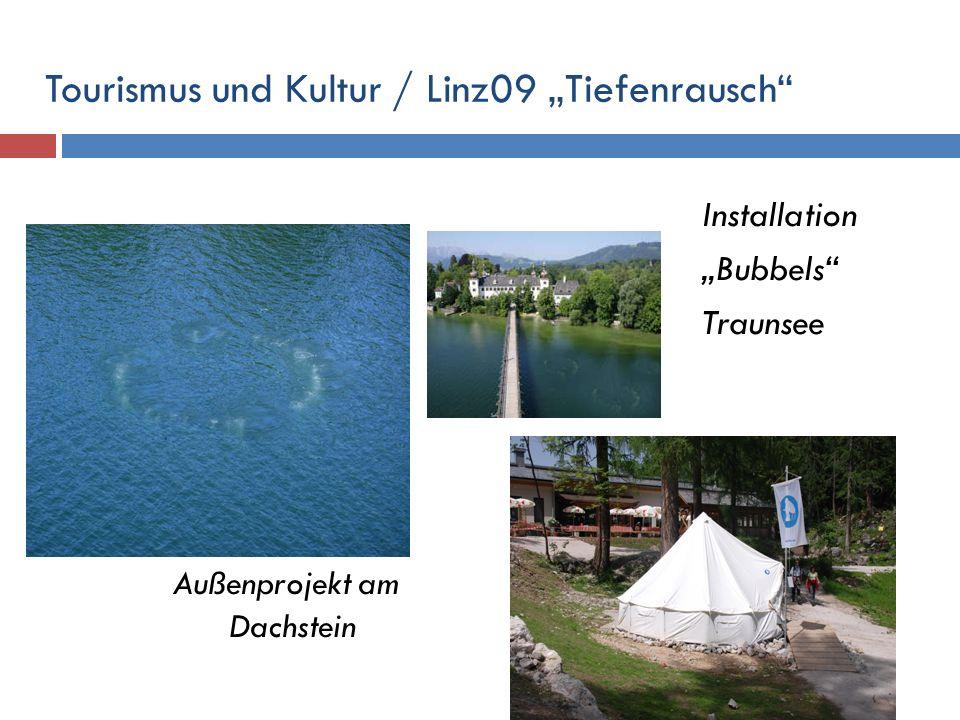 """Tourismus und Kultur / Linz09 """"Tiefenrausch"""
