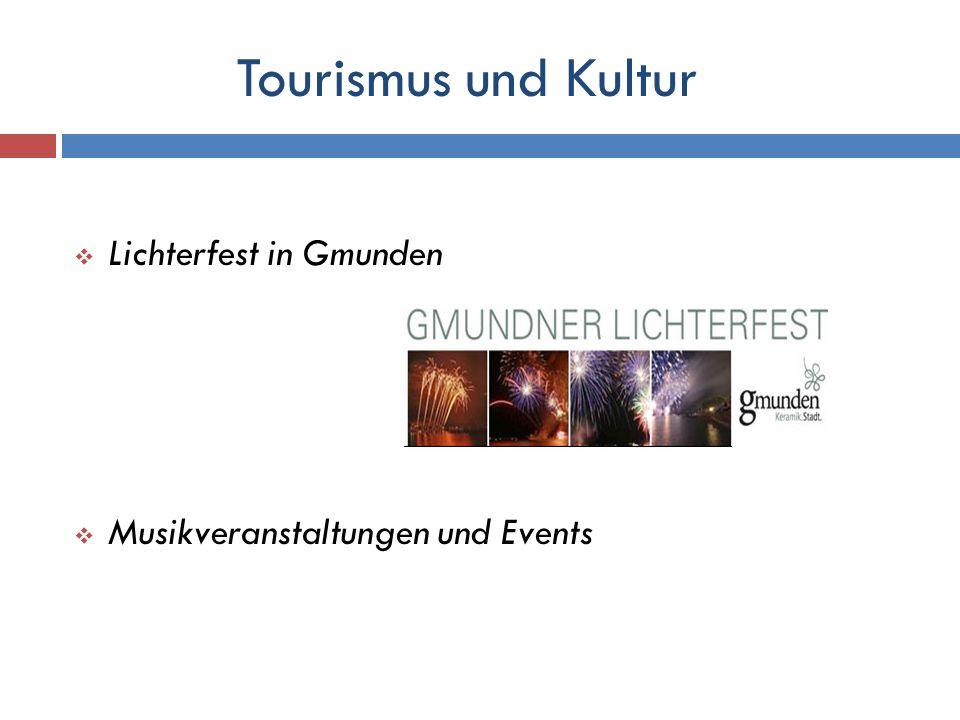 Tourismus und Kultur Lichterfest in Gmunden