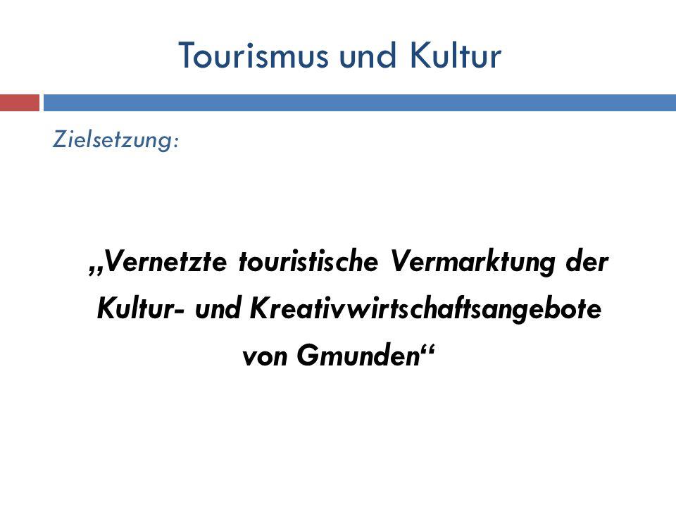 Tourismus und Kultur Kultur- und Kreativwirtschaftsangebote