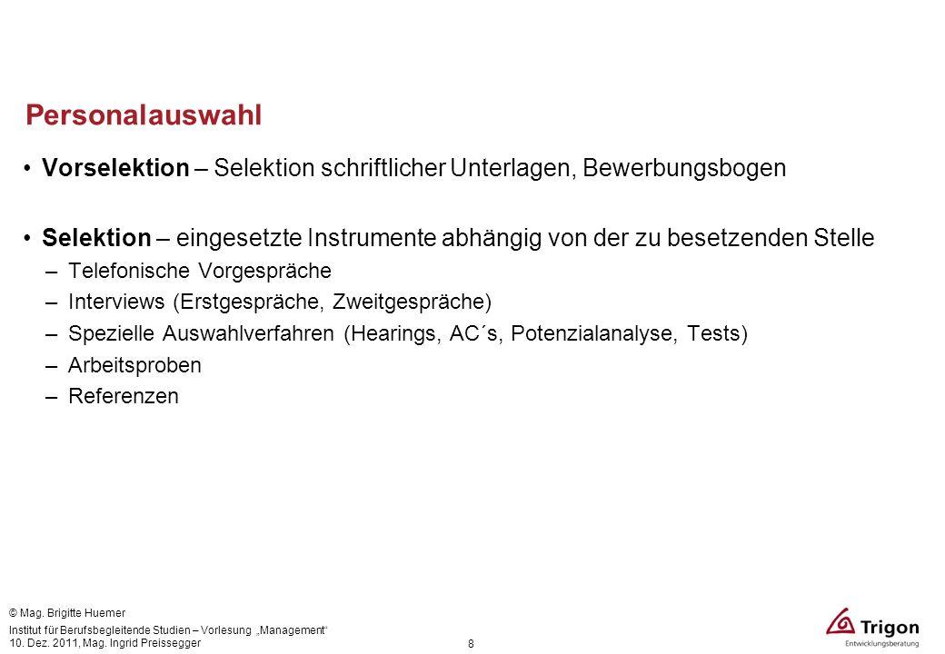 Personalauswahl Vorselektion – Selektion schriftlicher Unterlagen, Bewerbungsbogen.