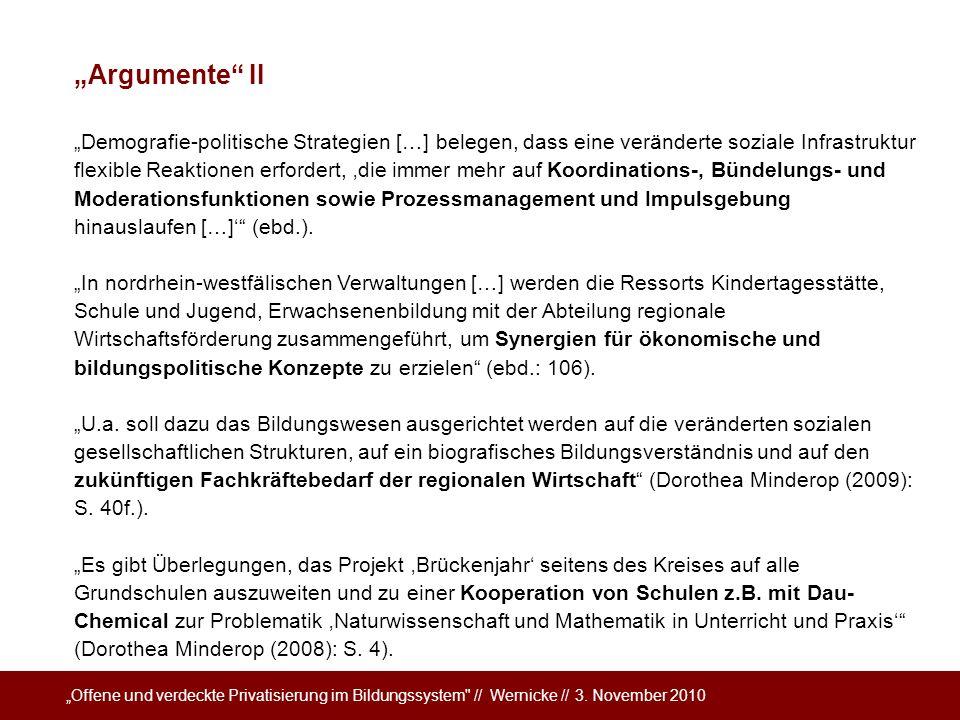 """""""Argumente II"""