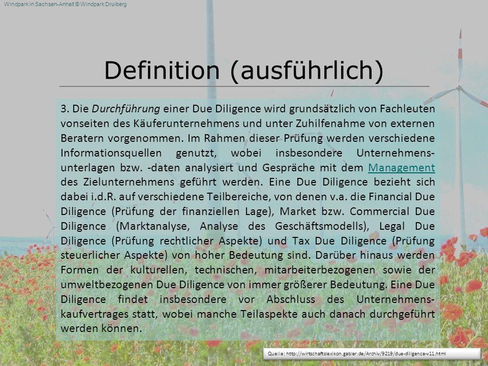 Definition (ausführlich)