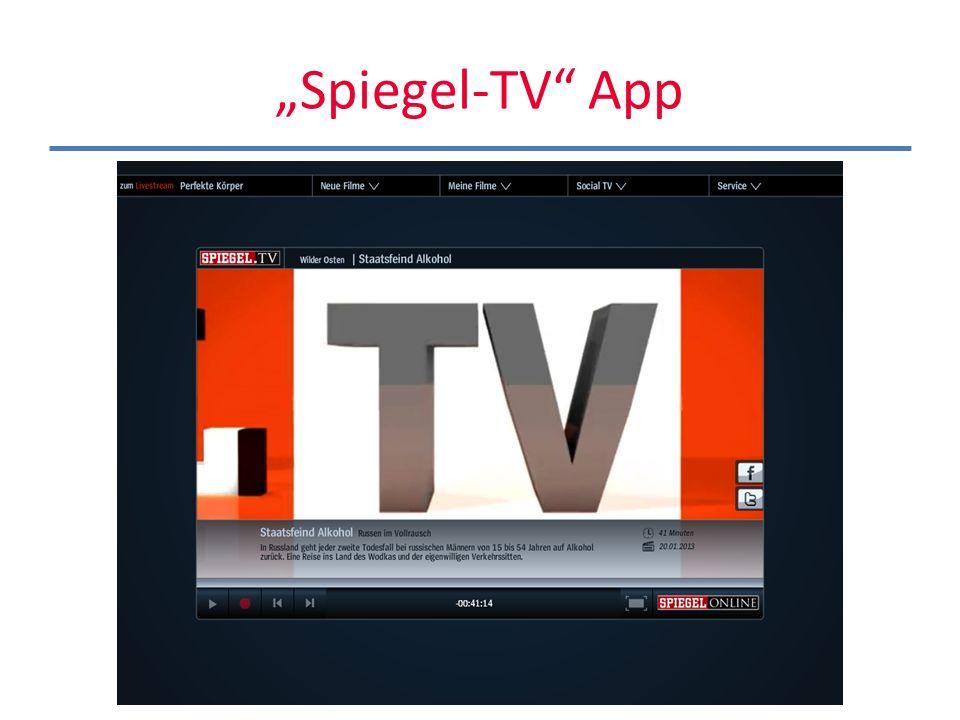 """Spiegel-TV App"