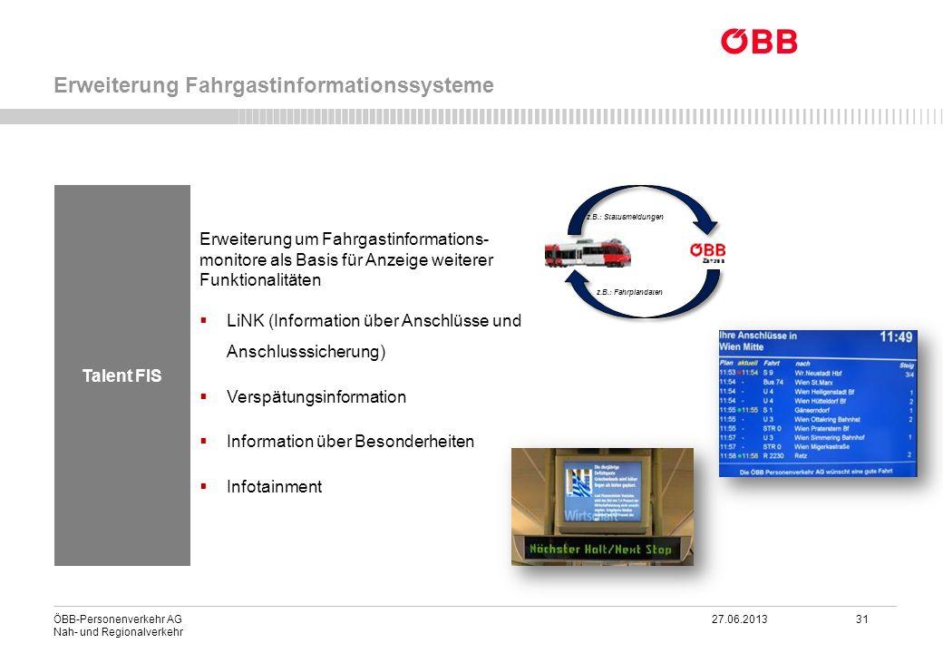Erweiterung Fahrgastinformationssysteme