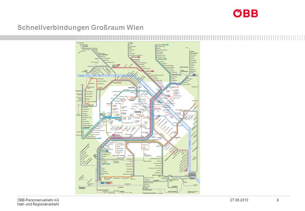 Schnellverbindungen Großraum Wien