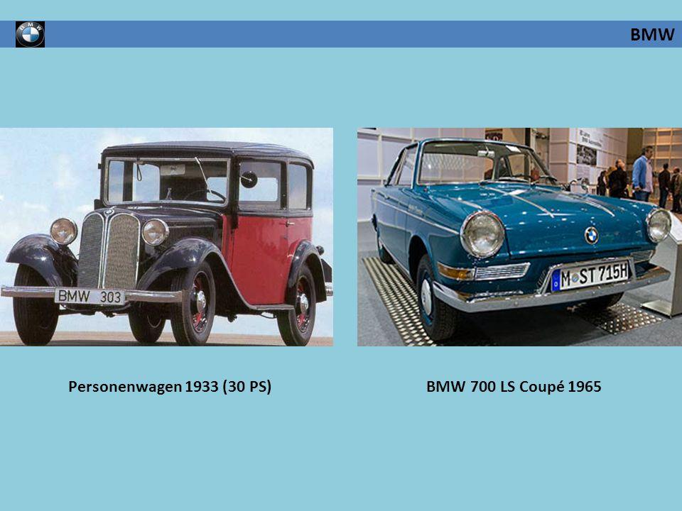 BMW Personenwagen 1933 (30 PS) BMW 700 LS Coupé 1965