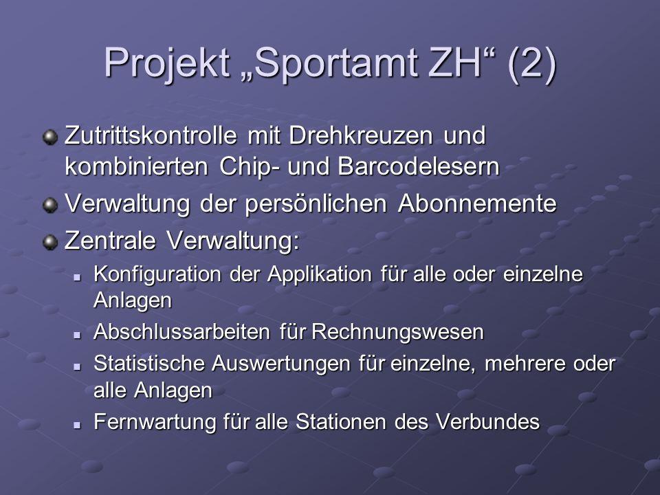 "Projekt ""Sportamt ZH (2)"