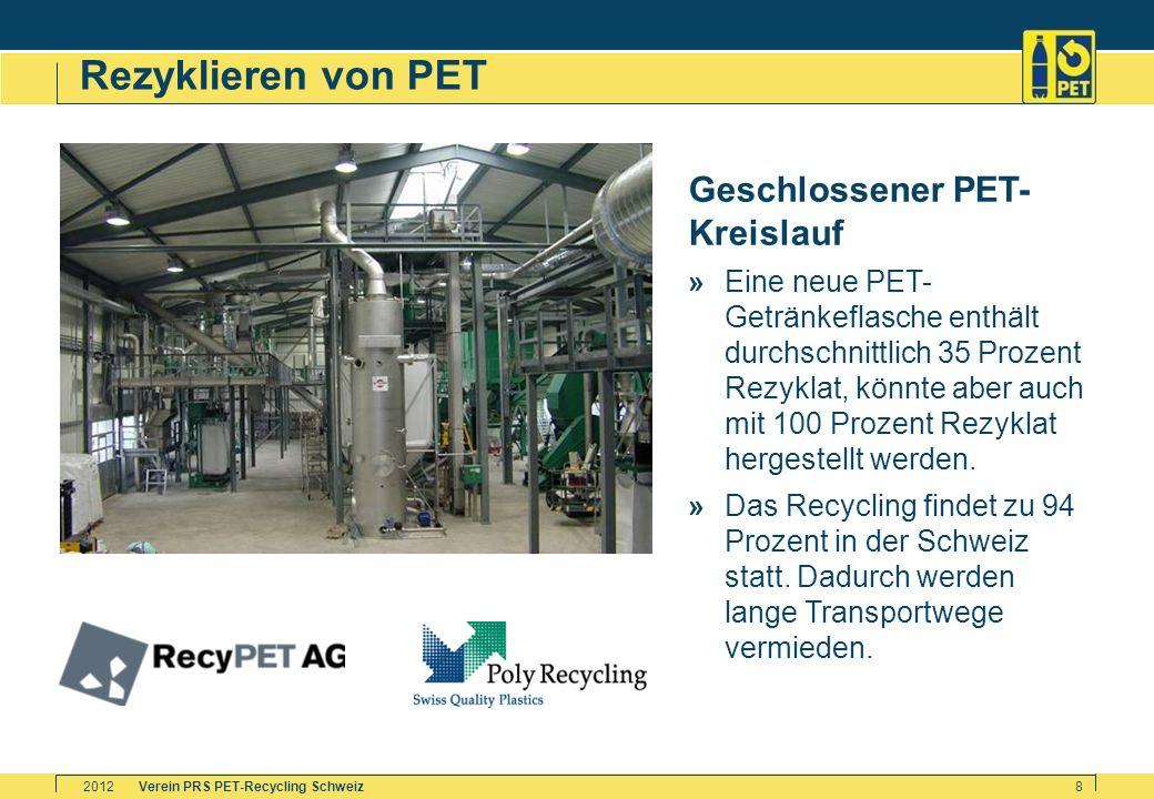 Rezyklieren von PET Geschlossener PET-Kreislauf »