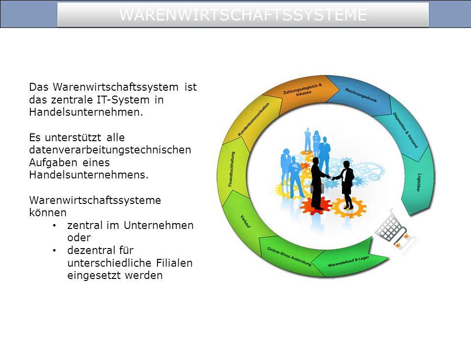 Das Warenwirtschaftssystem ist das zentrale IT-System in Handelsunternehmen.