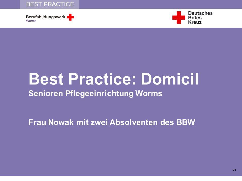 Best Practice: Domicil