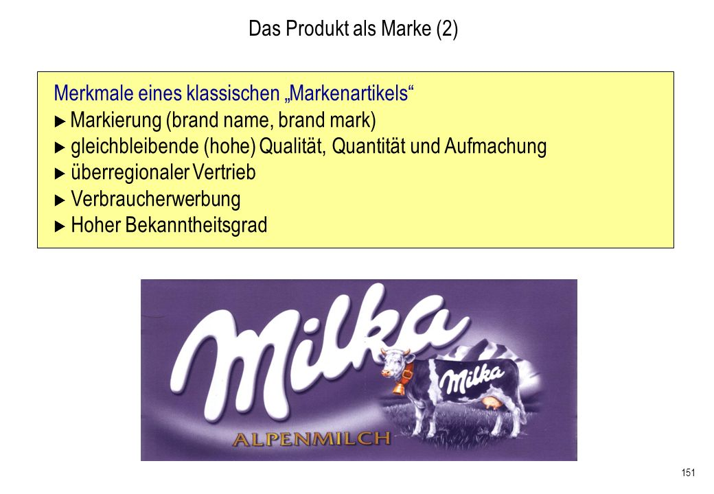 Das Produkt als Marke (2)
