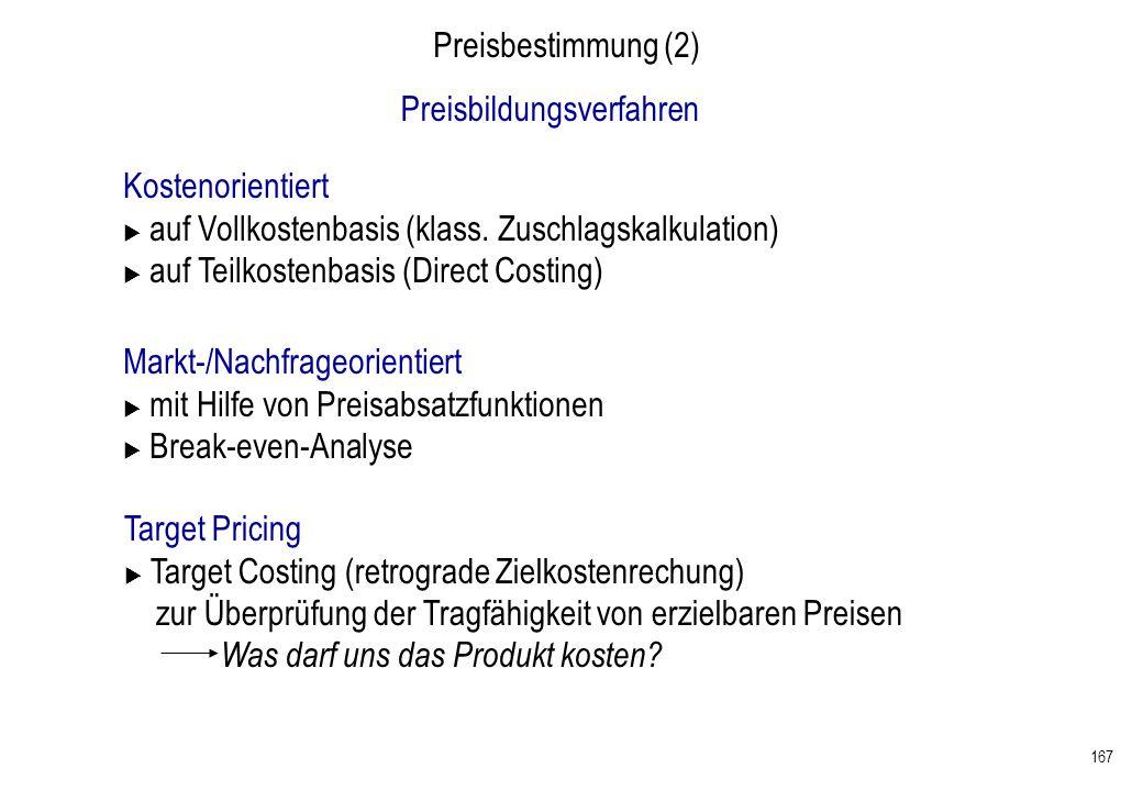 Preisbildungsverfahren