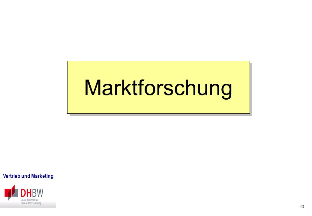 28.03.2017 Marktforschung Vertrieb und Marketing