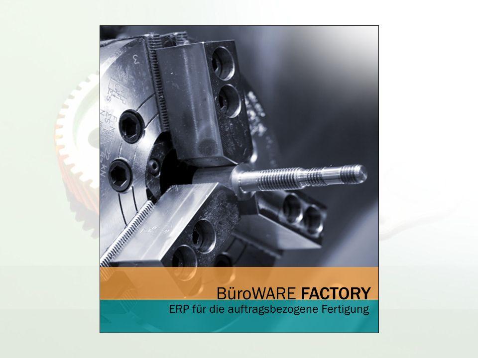 Produkt-Zielgruppe: produzierende Unternehmen mit auftragsbezogener Fertigung (relativ branchenneutral)