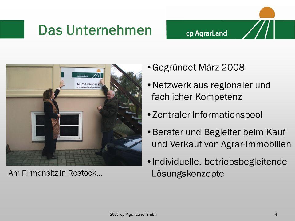 Das Unternehmen Gegründet März 2008