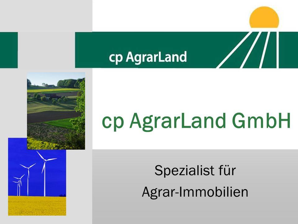 Spezialist für Agrar-Immobilien