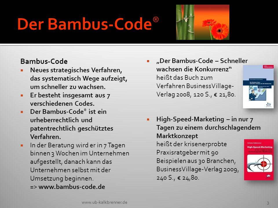 Der Bambus-Code® Bambus-Code
