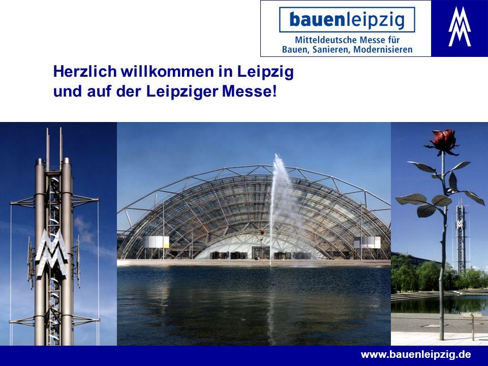 Herzlich willkommen in Leipzig und auf der Leipziger Messe!
