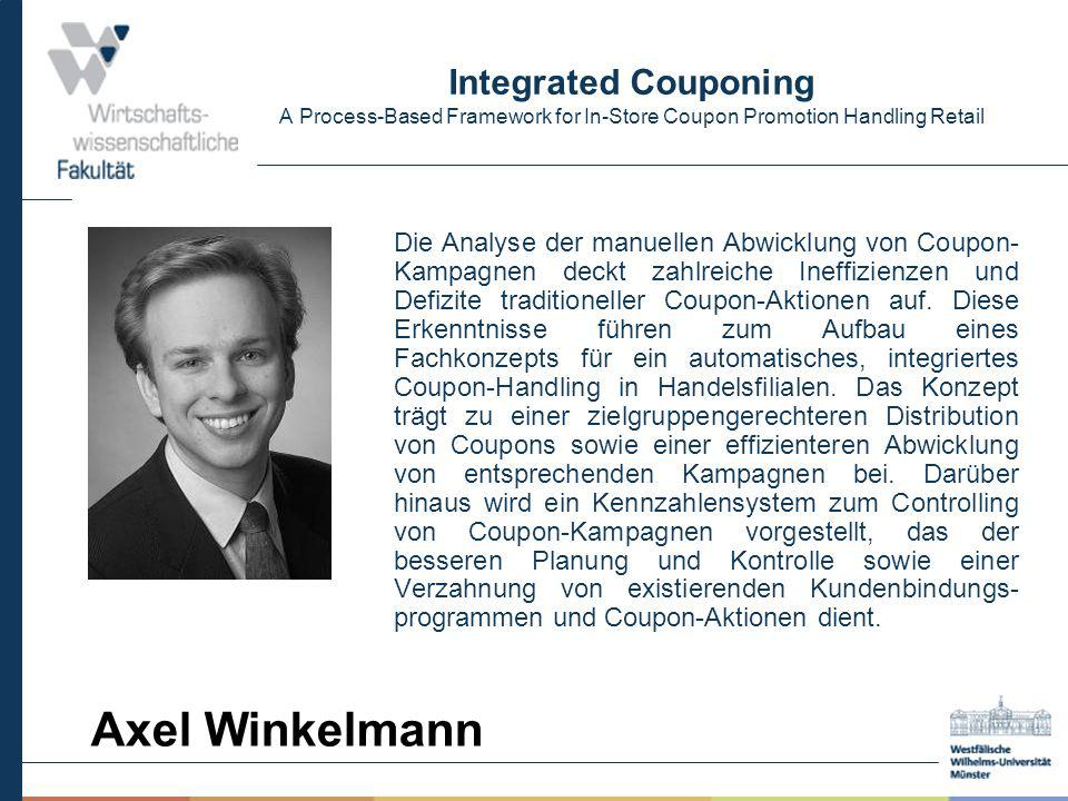 Integrated Couponing A Process-Based Framework for In-Store Coupon Promotion Handling Retail