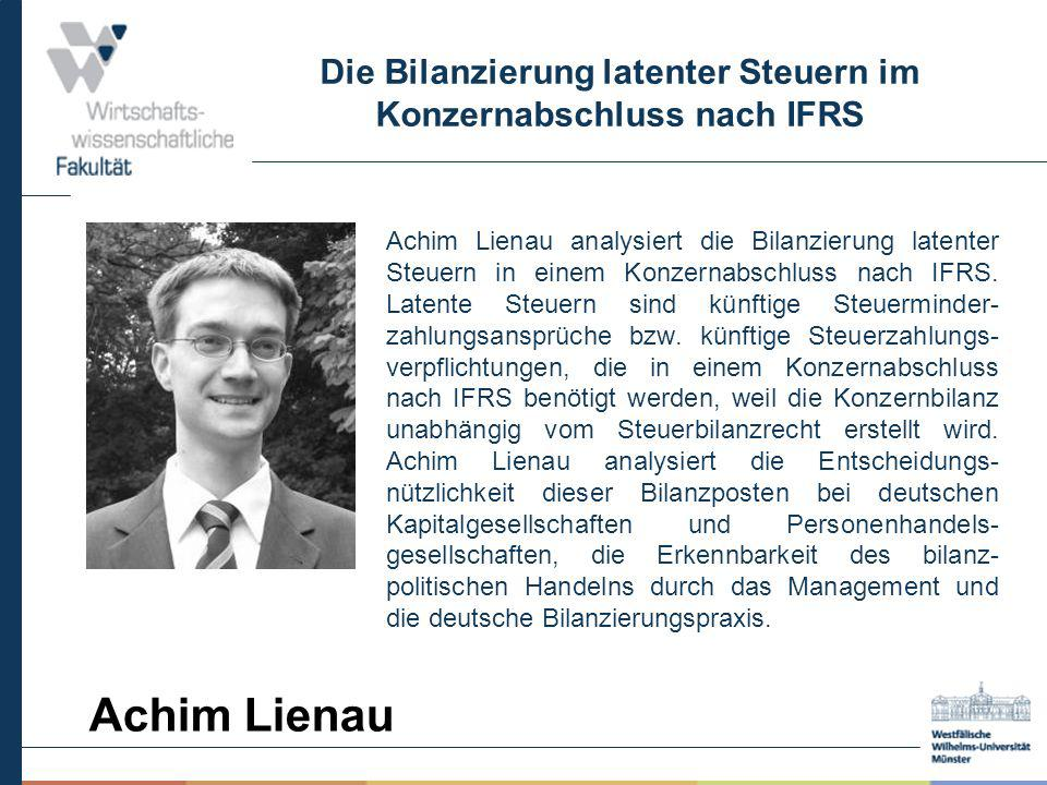 Die Bilanzierung latenter Steuern im Konzernabschluss nach IFRS