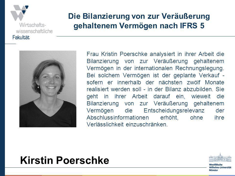 Die Bilanzierung von zur Veräußerung gehaltenem Vermögen nach IFRS 5