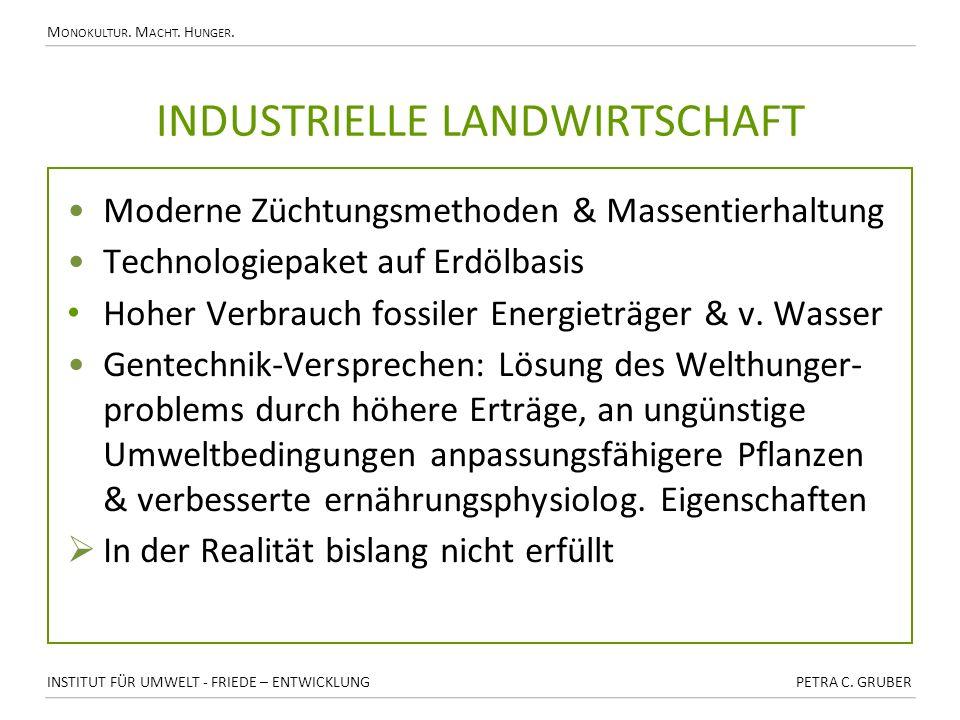 Industrielle Landwirtschaft