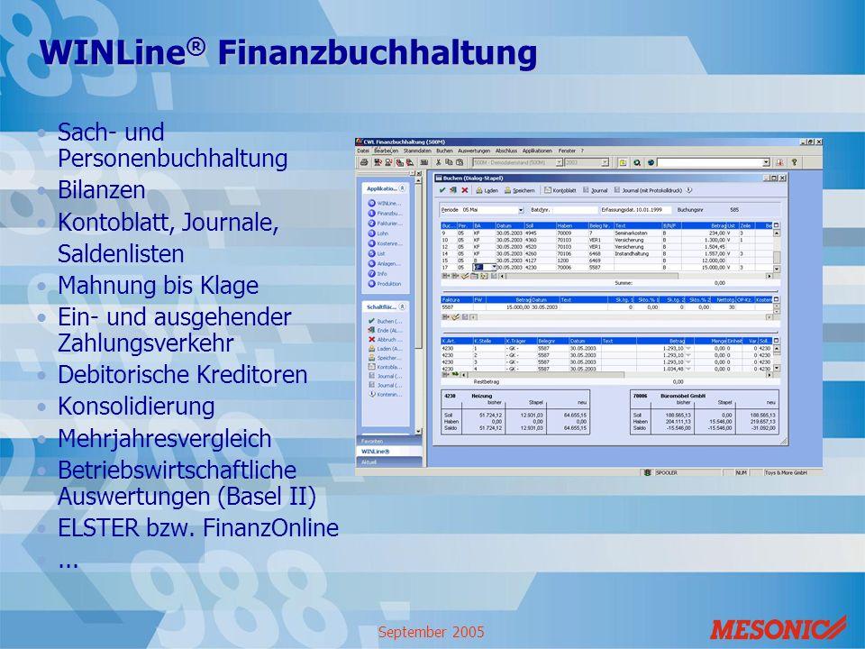 WINLine® Finanzbuchhaltung