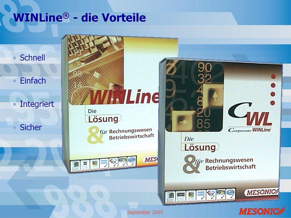 WINLine® - die Vorteile