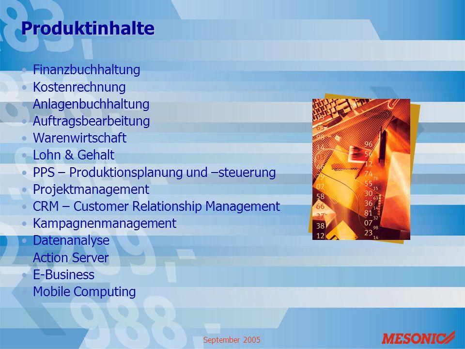 Produktinhalte Finanzbuchhaltung Kostenrechnung Anlagenbuchhaltung