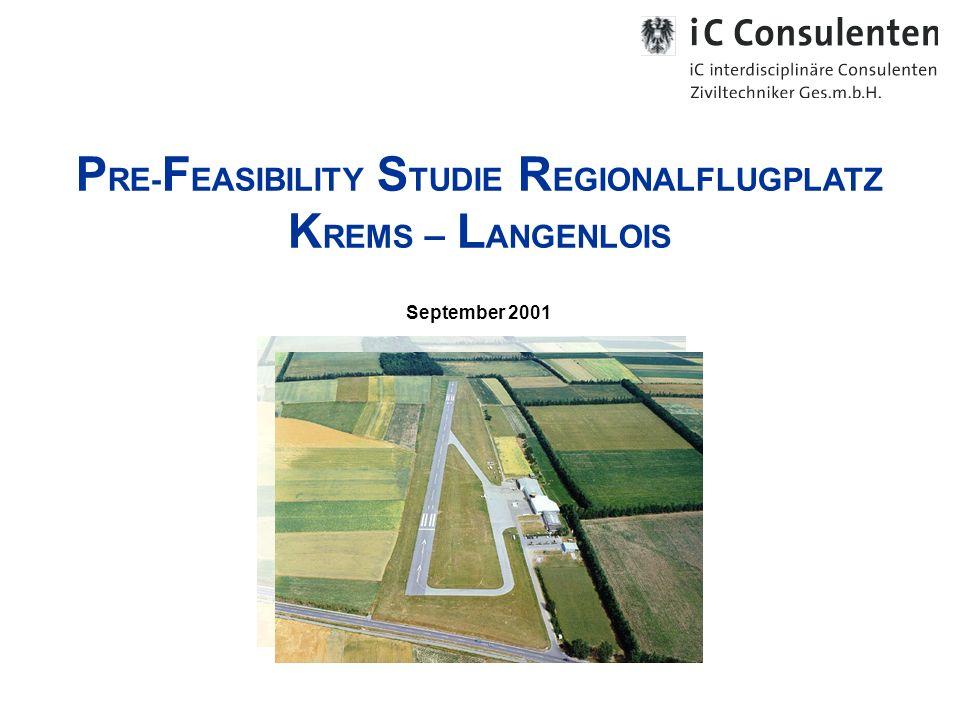 PRE-FEASIBILITY STUDIE REGIONALFLUGPLATZ