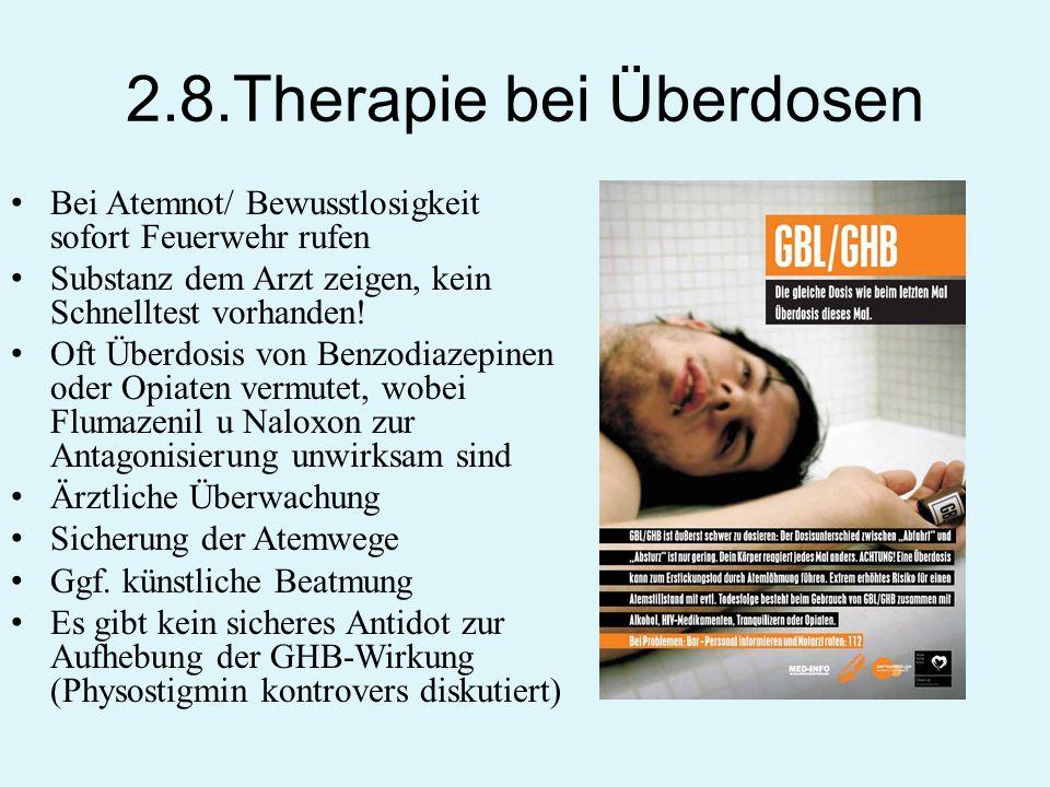 2.8.Therapie bei Überdosen