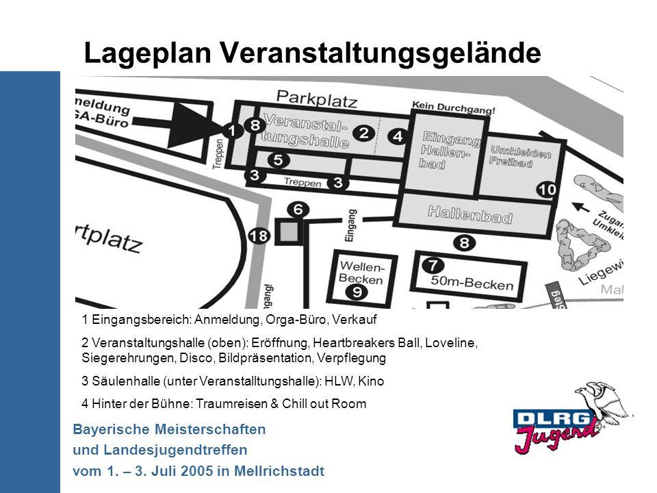 Lageplan Veranstaltungsgelände