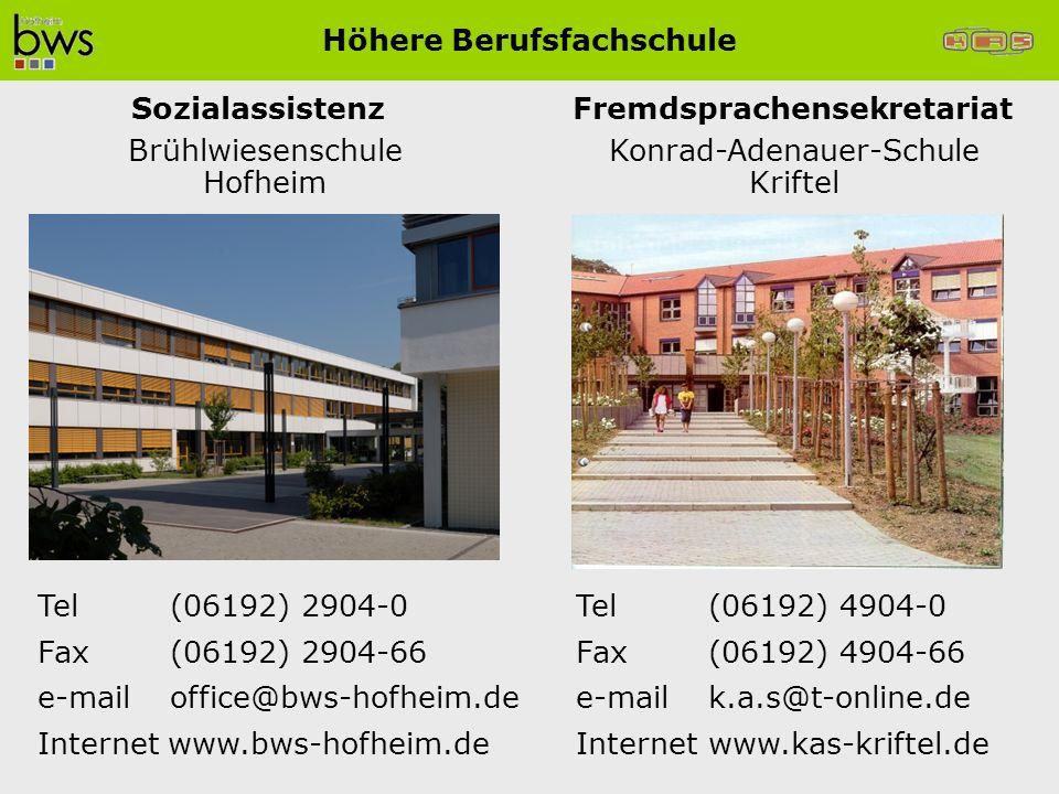 Höhere Berufsfachschule Fremdsprachensekretariat