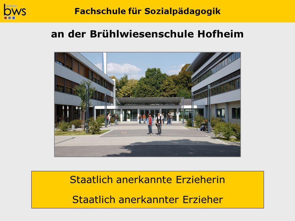 Fachschule für Sozialpädagogik an der Brühlwiesenschule Hofheim