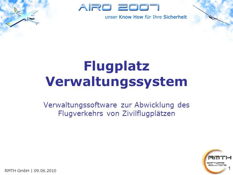 Flugplatz Verwaltungssystem