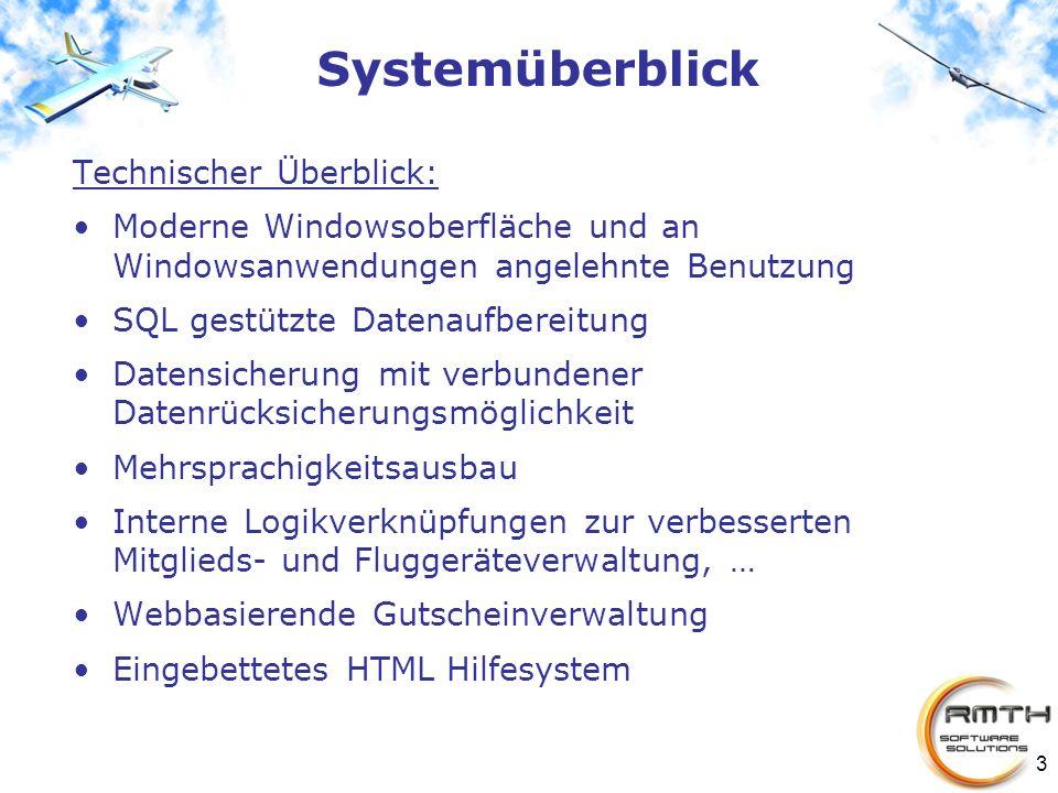 Systemüberblick Technischer Überblick: