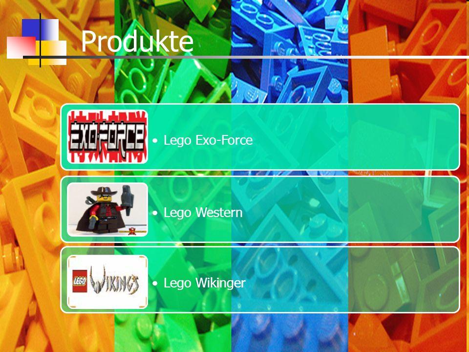 Produkte Lego Exo-Force Lego Western Lego Wikinger