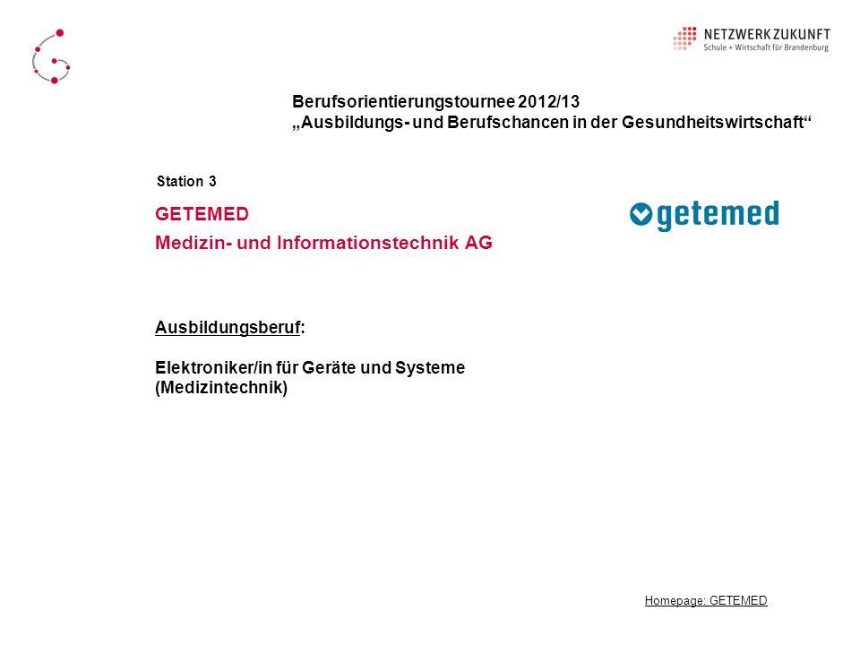 GETEMED Medizin- und Informationstechnik AG