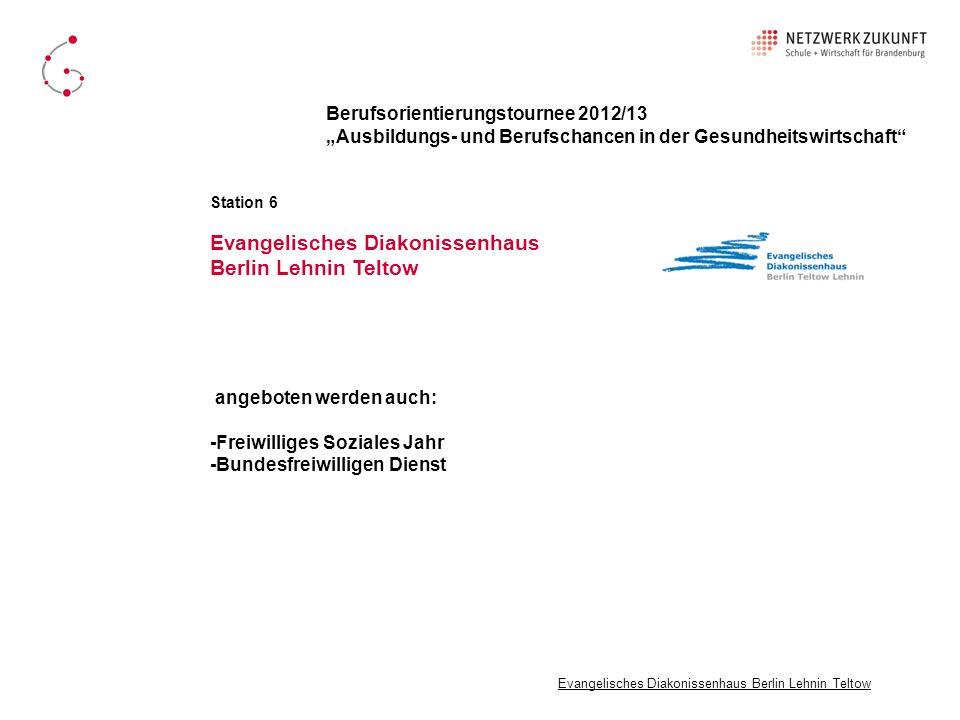 Evangelisches Diakonissenhaus Berlin Lehnin Teltow