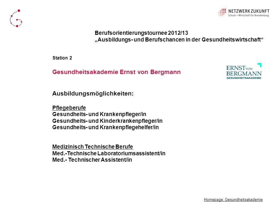Gesundheitsakademie Ernst von Bergmann